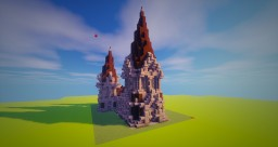 [Bundle Gothic House] Church Minecraft Map & Project