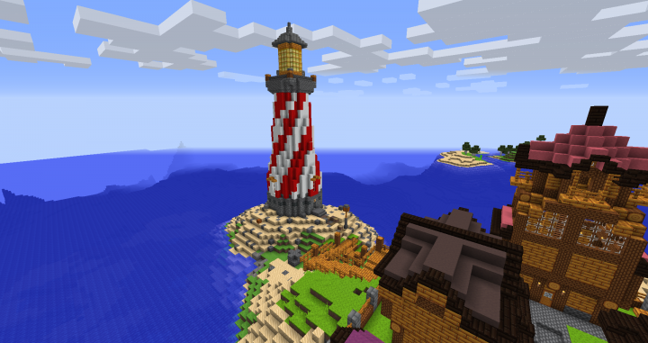Lighthouse - No shaders