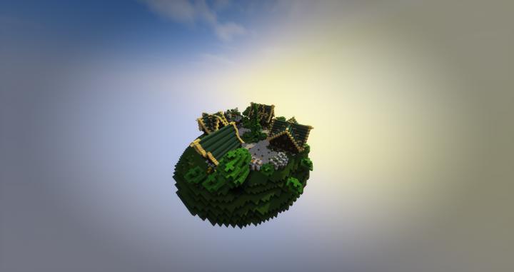 Skypvp Spawn Or LobbySpawn Minecraft Project - Minecraft hauser spawnen