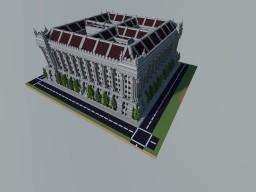 SimCity 4 - The Bureau of Bureaucracy Minecraft Map & Project