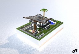 Beach House Minecraft Project