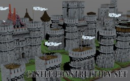 Сastle construction set Minecraft Project