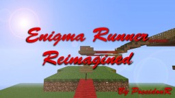 Enigma Runner Reimagined (Story Based Parkour Map) Minecraft Project