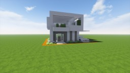 One-Chunk Modern House (w/ Download) Minecraft Project