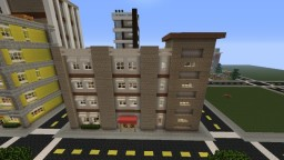 Vanilla Apartments Minecraft Map & Project