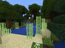 Secluded Spring in the Woods Minecraft Map & Project