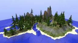 Island under your buildings World Paiter Minecraft Project