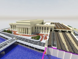 30th Street Station Minecraft Map & Project