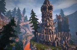 Clan war, castle siege Minecraft Map & Project
