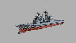 USS Lake Erie (CG-70) 1:1 scale Minecraft Map & Project