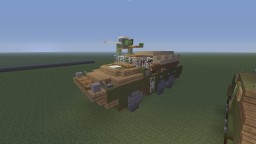 WWII U.S DUKW Amphibious Truck Minecraft Map & Project