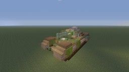 Girls und Panzer, Churchill Mark VII A22F, St. Gloriana Girls Highschool version Minecraft Map & Project