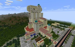 The Hollywood Tower Hotel; The Twilight Zone Tower of Terror; Disney California Adventure Minecraft Map & Project