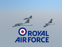 Royal Air Force Combat Air Pack Minecraft Project