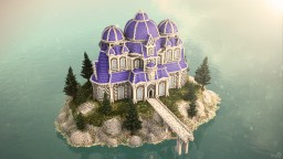 Palace on the Island Minecraft Map & Project