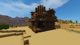 Wild West Saloon Minecraft Map & Project