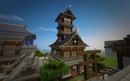 Tang Style Tower Hall 唐式屋堂 Minecraft Map & Project