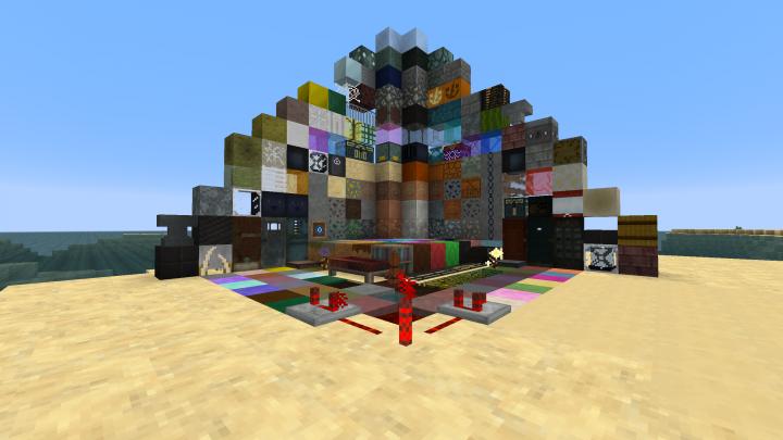 Sample shot of blocks