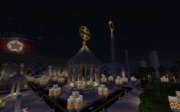 Modern-Sovietist Memorial Hall Minecraft Map & Project