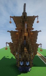 mayssaa | Steampunk House Minecraft Map & Project