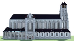 Sint Jacobskerk, Antwerpen, Belgium Minecraft Map & Project