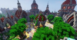 Beautiful, large spawn Minecraft Map & Project