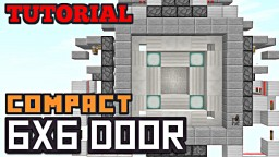 6X6 PISTON DOOR! Minecraft Blog