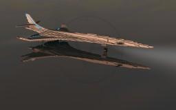 Tupolev Tu-3000 White Haron | Concept Military Plane Minecraft Map & Project