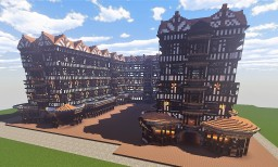 Tudor Artisan's Building Minecraft Map & Project