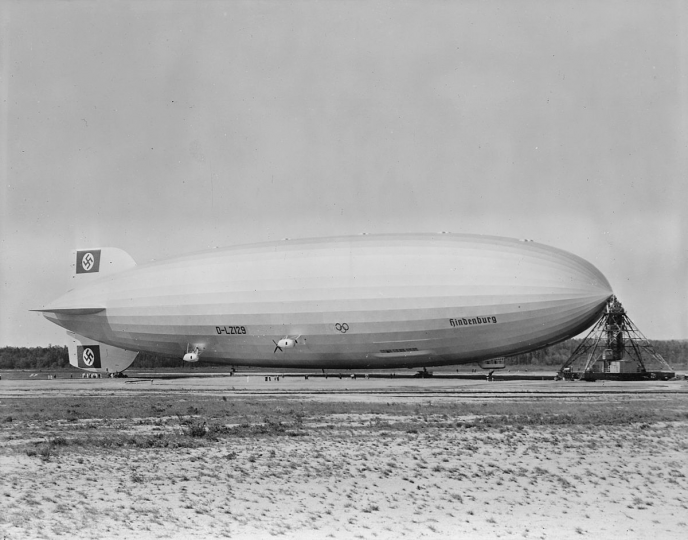 Image of the real Hindenburg