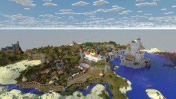 Amida and its surroundings Minecraft Map & Project