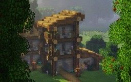 Medieval Townhouse Minecraft Project
