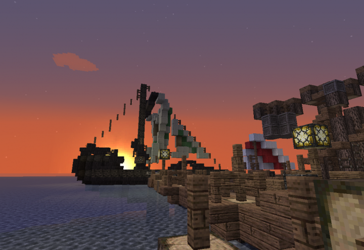 The Docks, at Spawn.