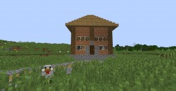 Maison Minecraft Map & Project