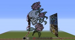 Skull and Roses - Skullgirl217 Minecraft