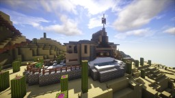 Blended Crete Villa Minecraft Project