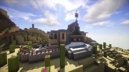 Blended Crete Villa Minecraft Map & Project