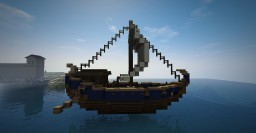 Roman merchant ship Minecraft Map & Project