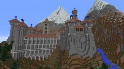Mountain Ish Castle Minecraft Project