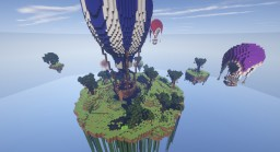 Balloon Landing In The Sky Minecraft Project
