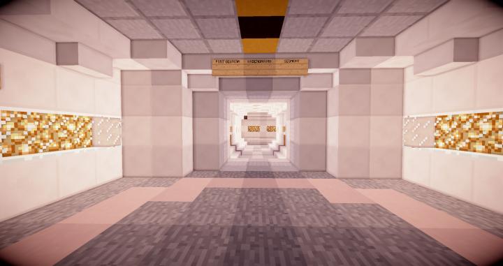 Underground Base Entrance.