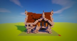 [Bundle Gothic House] House 2 Minecraft Map & Project
