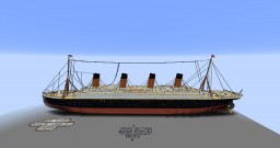 2:1 Scale RMS Titanic (this time with download) Minecraft