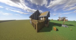 Town (Enchanting House) Minecraft Project