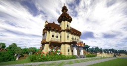 Ambitious Miner's Home Minecraft Project