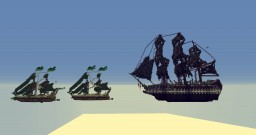 3 Ships + DOWNLOAD Minecraft Project