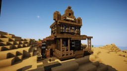 Wild Western Undertaker Minecraft Map & Project
