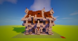 [Bundle Gothic House] House 3 Minecraft Map & Project