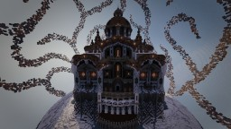 The Red Cathedral - Snow Globe Contest Minecraft Project