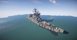 Fictional Japanese Cruiser Minecraft Project